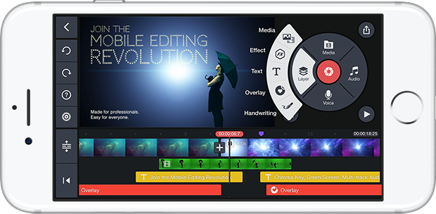 Kinemaster Professional Mobile Video Editor